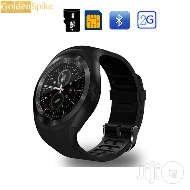 Epic Gear 5 Smart Watch Phone With SIM Card Slot Promo | Smart Watches & Trackers for sale in Benin City, Edo State, Nigeria