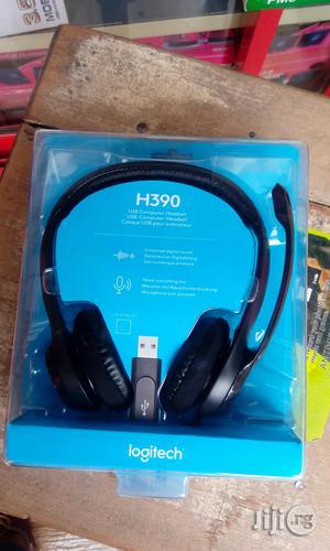 H390 USB Logitech Headphones   Headphones for sale in Lagos State, Ikeja