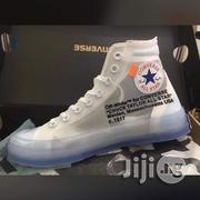 Off White Chuck Taylor Converse | Shoes for sale in Lagos State, Ojota