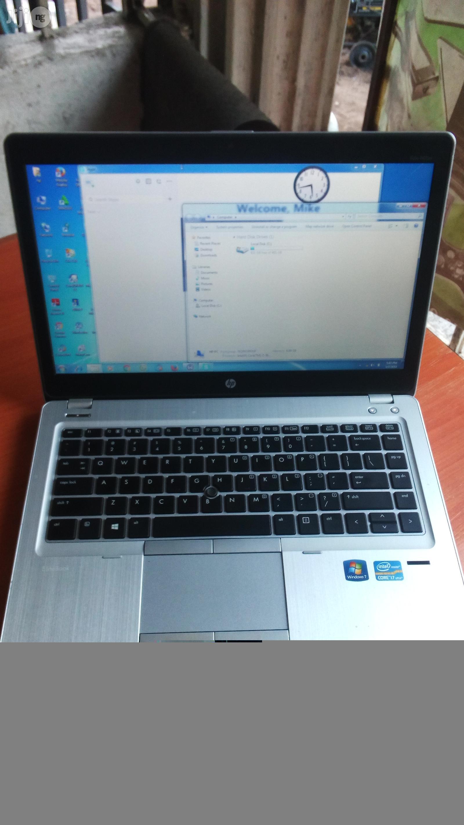 Laptop HP EliteBook Folio 9470M 8GB Intel Core i5 HDD 500GB | Laptops & Computers for sale in Owerri, Imo State, Nigeria