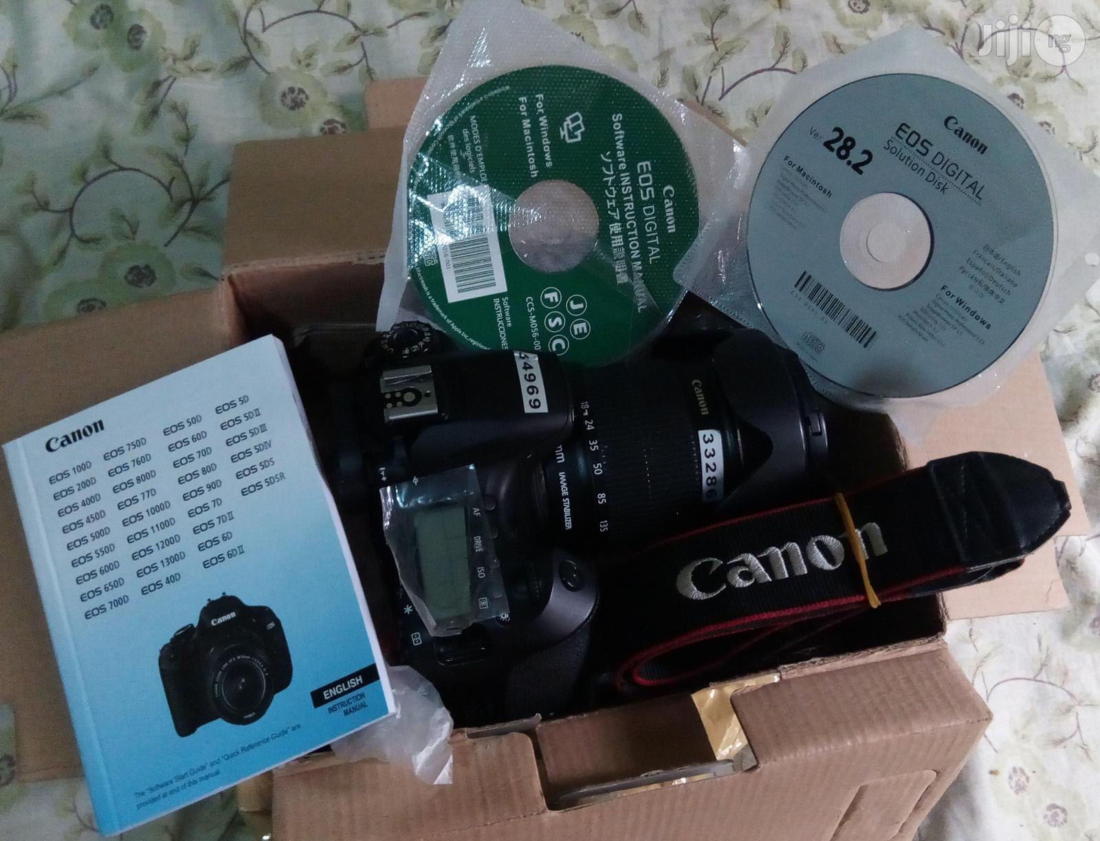 Archive: Canon 60D With 18-135mm Photo N Video Camera And Accessories