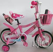 Star Children Bicycle With Helmet - Pink (Size 12) | Toys for sale in Lagos State