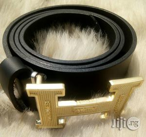 Hermes Black Leather Belt | Clothing Accessories for sale in Lagos State