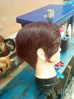 Rihanna Half-Face Score Cap Wig | Hair Beauty for sale in Imo State, Owerri