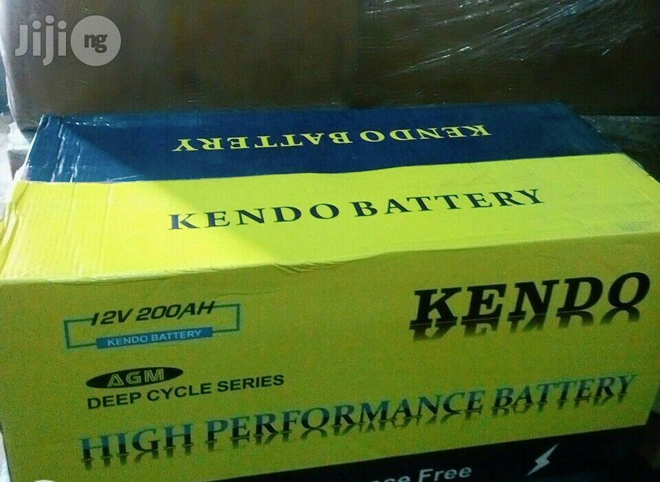Archive: High Quality Kendo Deep Solar Battery 200ah