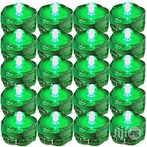 USA SUPER Bright LED Tea Light Submersible Lights For Party Green | Home Accessories for sale in Lagos State, Surulere