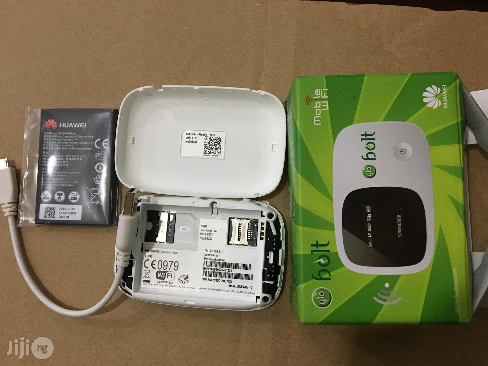 Glo Bolt 3G Unlocked Pocket Mobile Wifi for All 3G Networks | Networking Products for sale in Ikeja, Lagos State, Nigeria