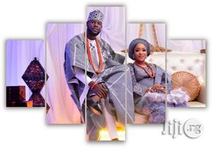 Make Your Custom Made Wedding Picture HD Canvas Wall Art | Wedding Wear & Accessories for sale in Lagos State, Agege