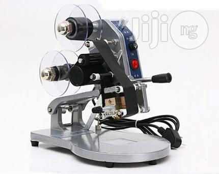 DY-8 Manual Hot Stamp Ribbon Printer Coding Machine