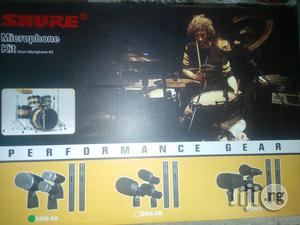 Shure 5 Piece Of Drum Kit Mic | Musical Instruments & Gear for sale in Lagos State, Ojo