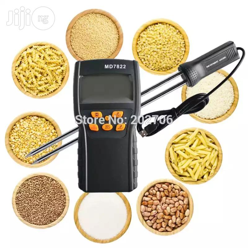 Digital Grain Moisture Temperature