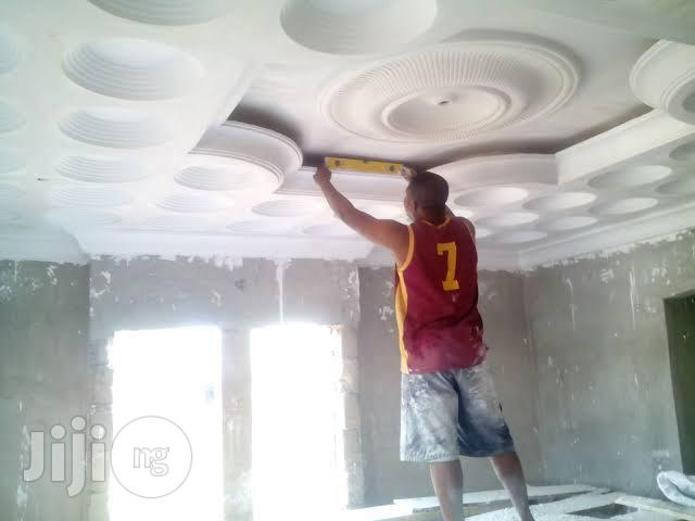 Archive: Pop Ceiling Decorator At Work