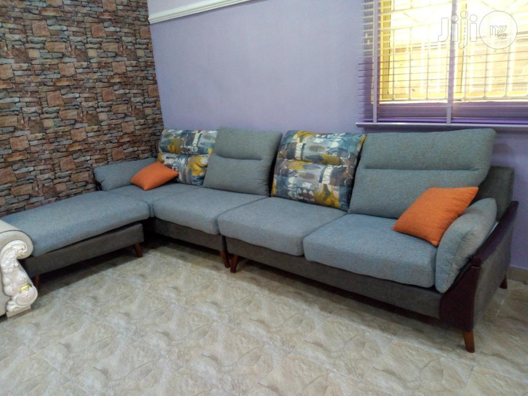 Living Room Fabric L Shape Sofa Settee Chair | Furniture for sale in Kubwa, Abuja (FCT) State, Nigeria