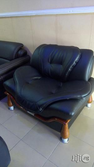 Leather Sofa Chair. | Furniture for sale in Lagos State, Magodo