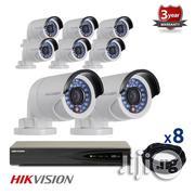 8 IP Hikvision Cameras CCTV Kit, 4mp, IR Night Vision | Security & Surveillance for sale in Lagos State, Ikeja