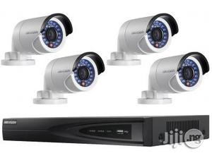 Hikvision 4 Camera 4MP IP CCTV System With 30m Night Vision, NVR | Security & Surveillance for sale in Lagos State, Ikeja