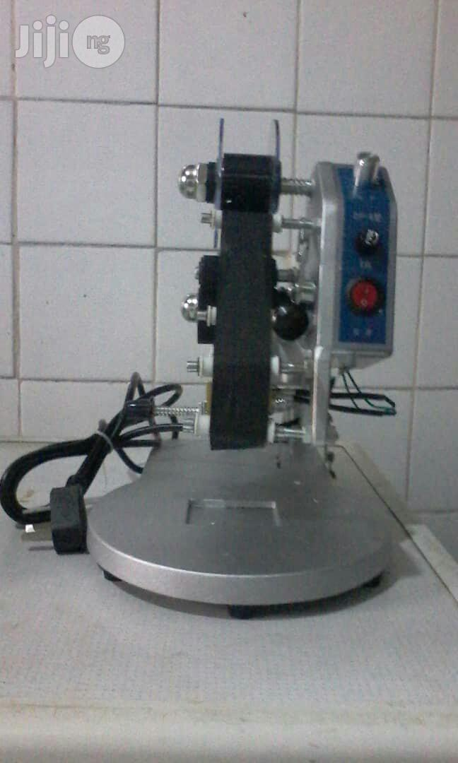 DY -8 Manual Hand Operat Stamp Ribbon Printer Coding Machine | Printing Equipment for sale in Ilupeju, Lagos State, Nigeria