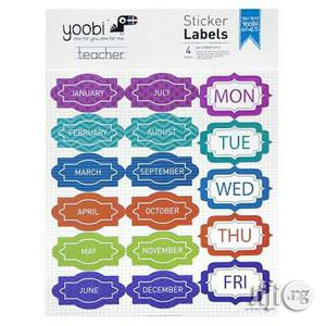 Yoobi Sticker Labels - 4 Pack | Babies & Kids Accessories for sale in Lagos State, Surulere