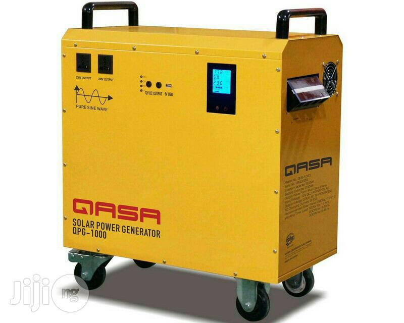 Qasa 1kva Solar Panel Generator | Solar Energy for sale in Wuse, Abuja (FCT) State, Nigeria