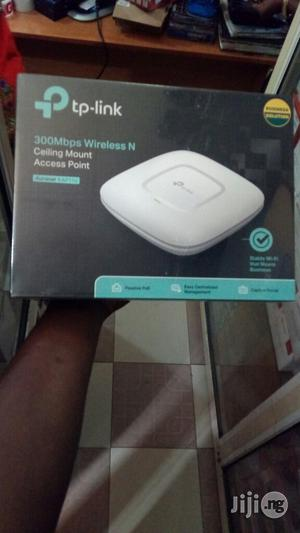 Tp-link 300mbps Wireless N Ceiling Mount Access Point EAP110 | Networking Products for sale in Lagos State, Ikeja