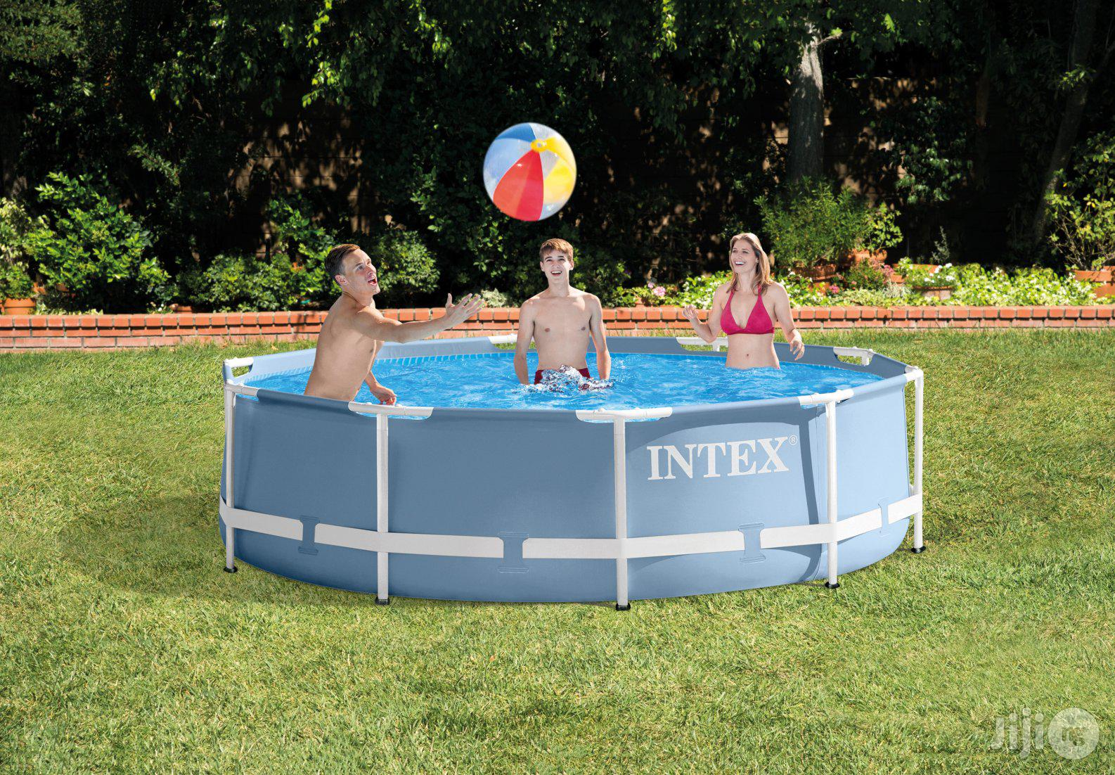 10 Ft By 3 Ft Prism Frame Swimming Pool INTEX