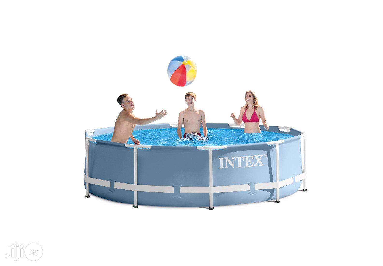 10 Ft By 3 Ft Prism Frame Swimming Pool INTEX | Sports Equipment for sale in Central Business Dis, Abuja (FCT) State, Nigeria