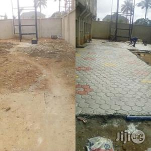 Designed Concrete Stamping/Interlocking | Building & Trades Services for sale in Imo State, Owerri