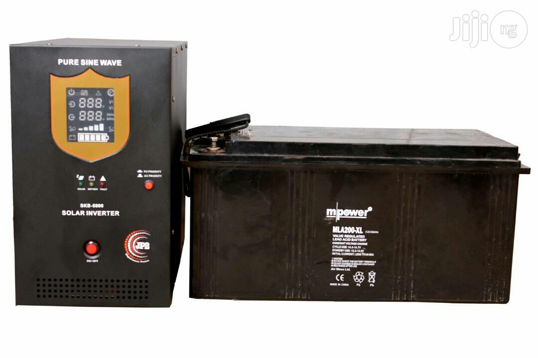 3kva Jp2 Hybrid Inverter With 40am Charge Controller