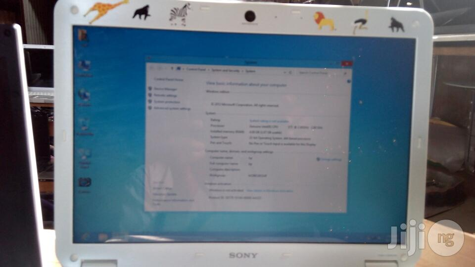 Clean USA Used Sony Notebook | Laptops & Computers for sale in Amuwo-Odofin, Lagos State, Nigeria