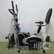 Obtrack Bike With Stepper, Twistter & Backrest | Sports Equipment for sale in Lagos State, Surulere