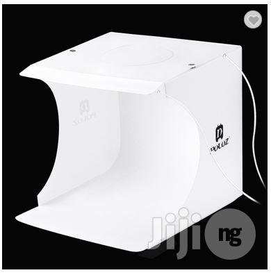 PULUZ 20cm Folding Portable 550LM Light Photo Studio Shooting Softbox | Accessories & Supplies for Electronics for sale in Ikeja, Lagos State, Nigeria