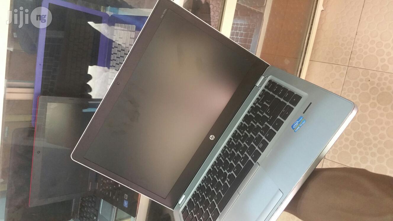 Laptop HP EliteBook Folio 9470M 4GB Intel Core I5 500GB   Laptops & Computers for sale in Ikeja, Lagos State, Nigeria