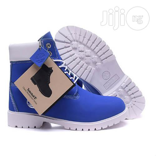 Archive: Timberland Boot- Blue White in