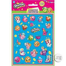 Shopkins 4 Pack Stickers | Babies & Kids Accessories for sale in Lagos State, Surulere
