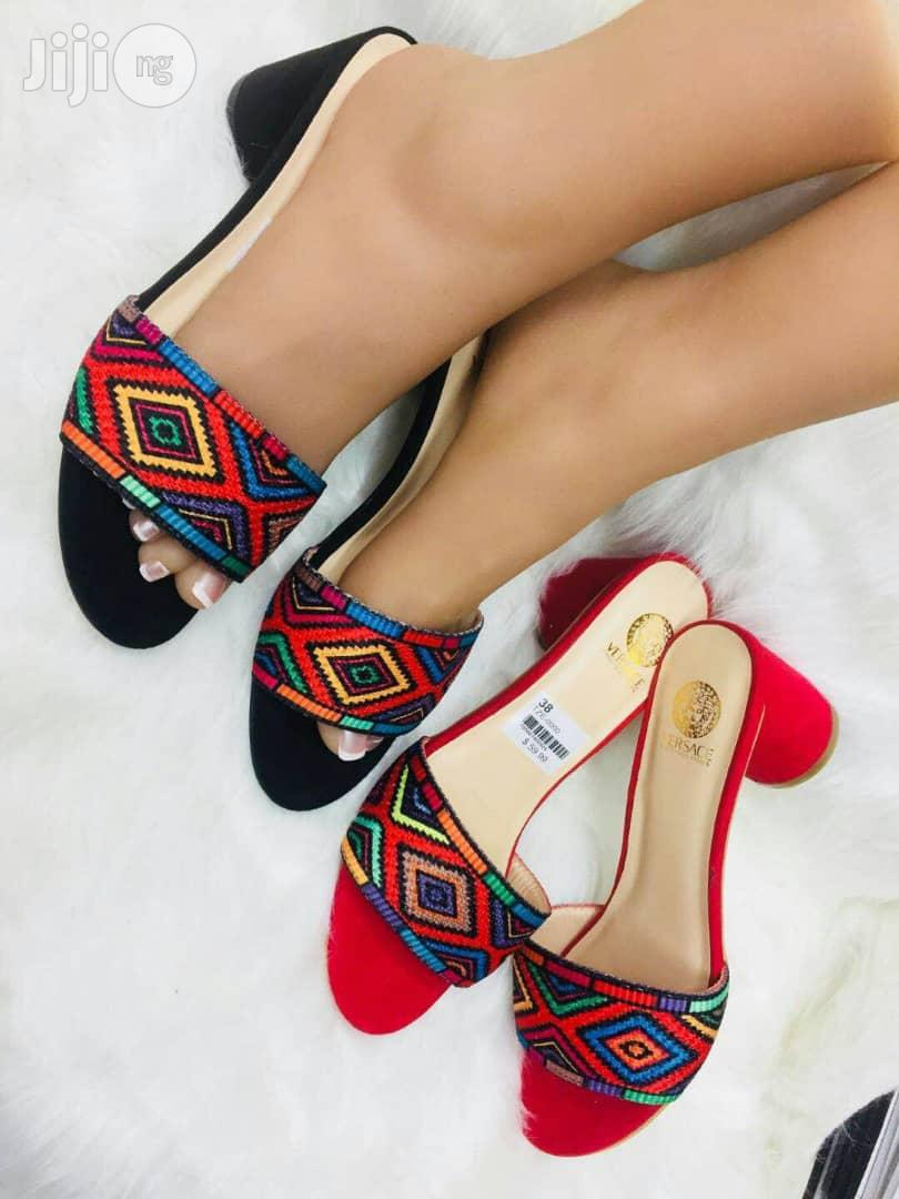 Quality Designer Low Heel Slippers And Sandals