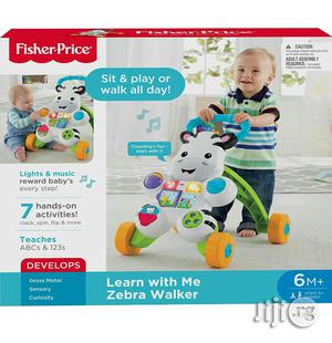Fisher Price Learn With Me Zebra Baby Walker   Children's Gear & Safety for sale in Lagos State, Ikeja