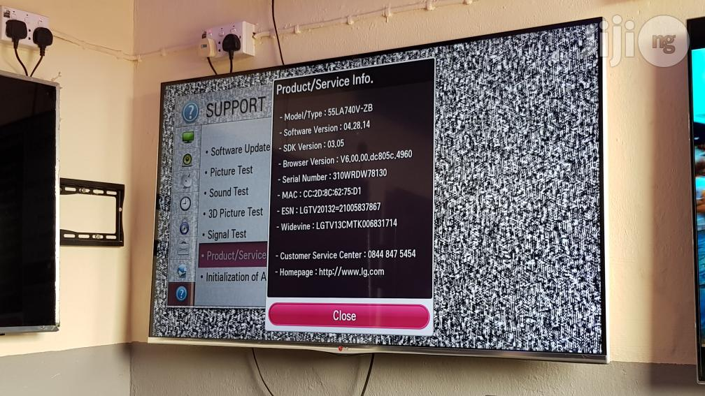 LG Smart Borderless 3D Flat Full HD LED TV 55 Inches