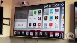 LG 55 Inches Smart 3D Borderless Full HD LED Tv   TV & DVD Equipment for sale in Lagos State, Ojo