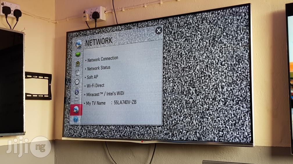 LG Smart Borderless 3D Flat Full HD LED TV 55 Inches | TV & DVD Equipment for sale in Ojo, Lagos State, Nigeria