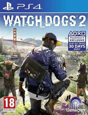 Watch Doggs 2 Ps4 Playstation 4 | Video Games for sale in Lagos State, Ikeja