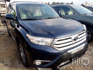 Toyota Highlander 2013 Blue   Cars for sale in Lagos State, Apapa