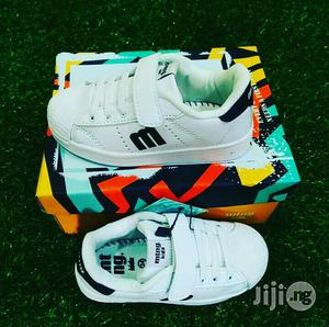 White Canvas for Cute Kids | Children's Shoes for sale in Lagos State, Lagos Island (Eko)