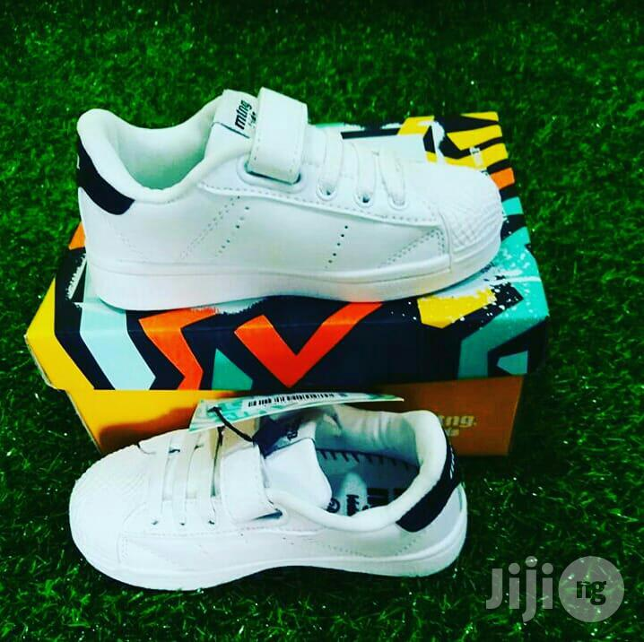 White Canvas for Cute Kids   Children's Shoes for sale in Lagos Island (Eko), Lagos State, Nigeria