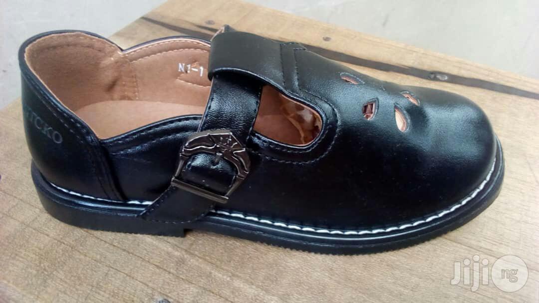Black School Shoe