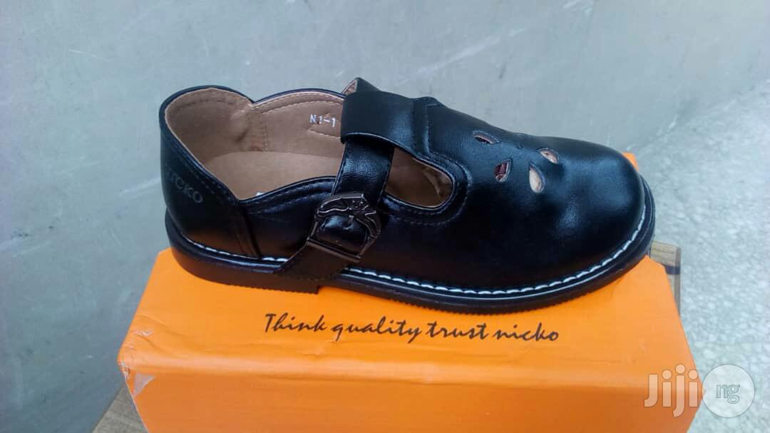 Archive: Black School Shoe
