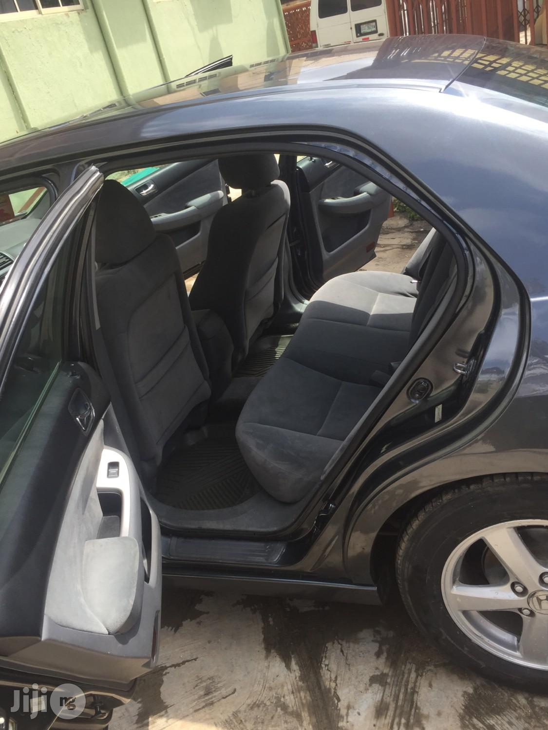 Honda Accord 2004 Automatic Gray | Cars for sale in Isolo, Lagos State, Nigeria
