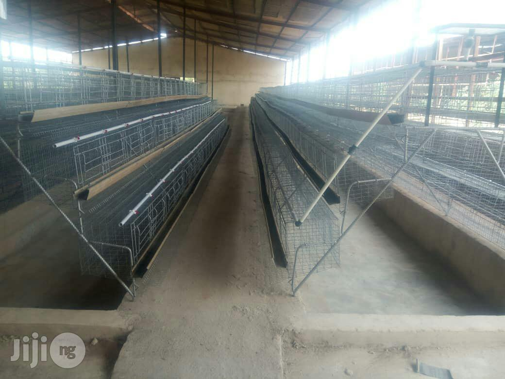 Galvanized Battery Cage | Farm Machinery & Equipment for sale in Gwarinpa, Abuja (FCT) State, Nigeria