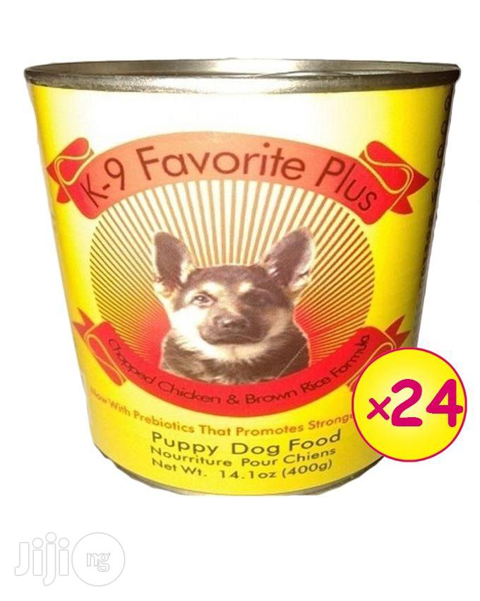 K-9 Favorite Canned Dog Food Puppy - 24 Cans
