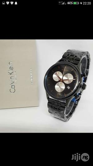 Calvin Klein(CK) Chronograph Black Chain Watch   Watches for sale in Lagos State, Lagos Island (Eko)