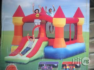 Brand New 12ft Bouncy Castle With Slide | Toys for sale in Rivers State, Port-Harcourt